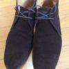 スウェードの靴のメンテナンス お手入れは簡単